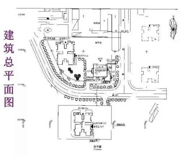二、建筑专业图   (一)平面图   1、作用:用于施工放线,主体结构施工,门窗安装、室内装饰及编制工程预算 .